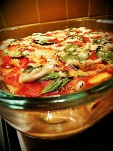 lazanja povrce vegan