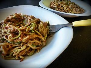 sirove spagete raw