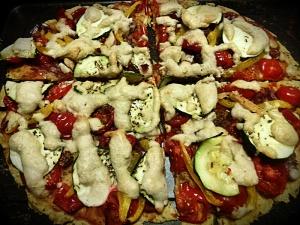 veganska pica bez glutena