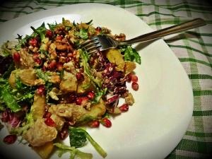 salata od nara i pecenog krompira