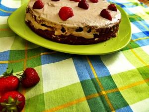 veganska torta od jagoda