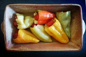 veganska punjena paprika